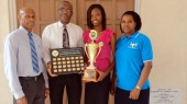 St. Lucia Mission won the Caribbean Union Bible Boom, Sherma Felix from Dierre Fort Church