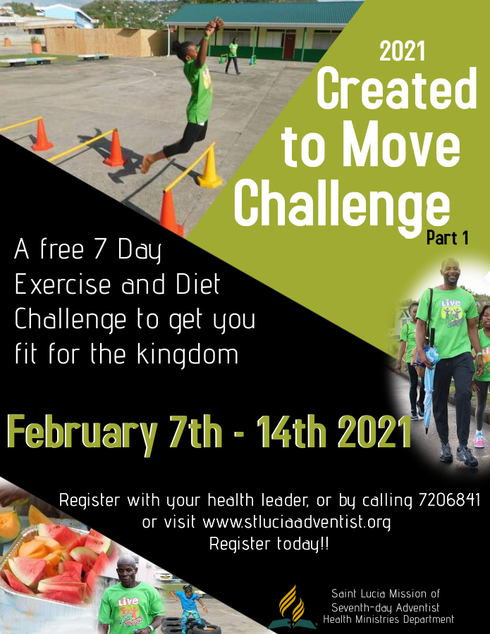 Created To Move 2021 Registration Open